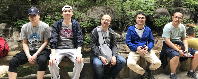 2018年4月29日,太行山大峡谷两日游。